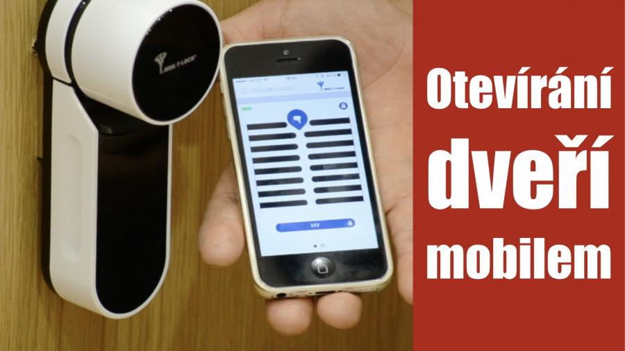 Otevírání domovních dveří pomocí mobilního telefonu