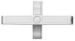 Přídavný zámek na okno ABUS 2520 W, bílý (dvoukřídlý)